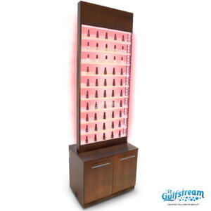 Paris Nail Polish Rack With Cabinet and LED Light_Oct2017_5-min