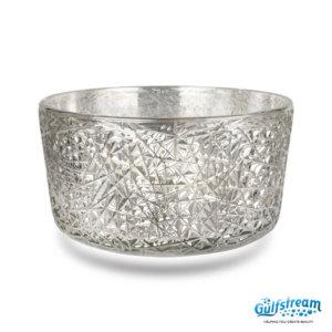 Gs5009 - Bird Nest Clear Glass Bowl 2