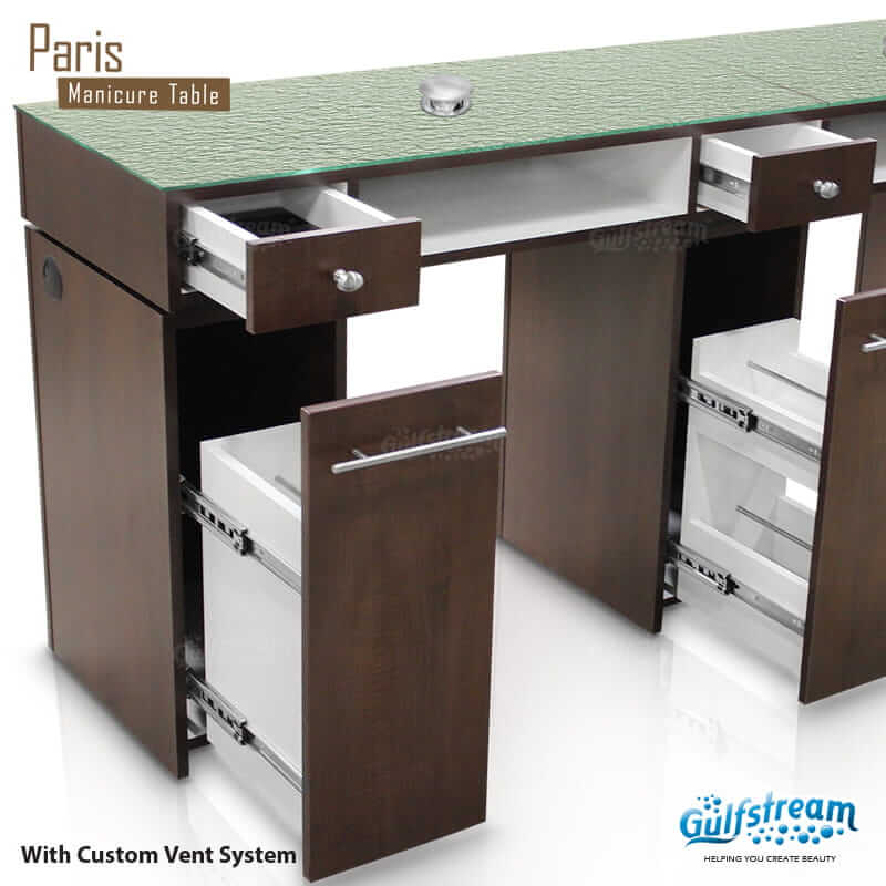 Paris Double Nail Table Gulfstream Inc