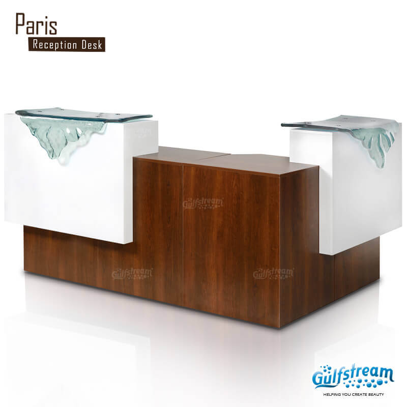 Paris L Shaped Reception Desk