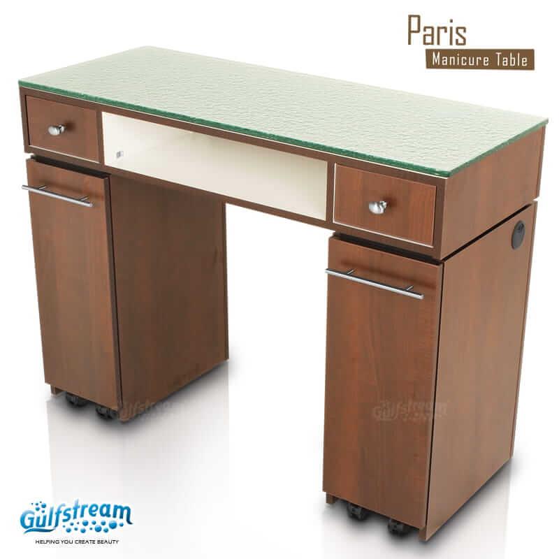 Paris Single Nail Table Gulfstream Inc