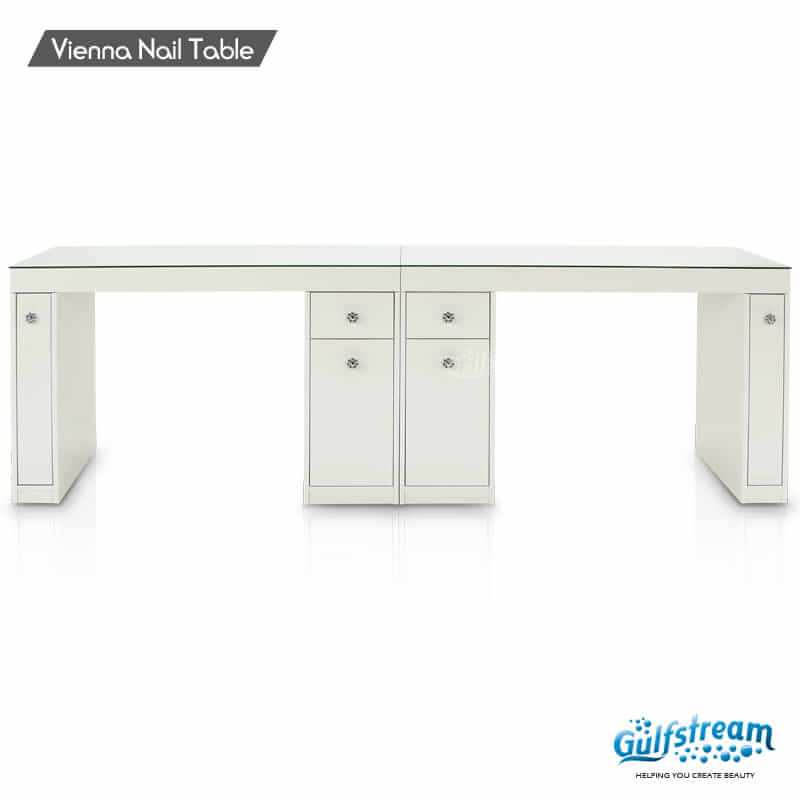 Vienna Double Nail Table   Gulfstream Inc.