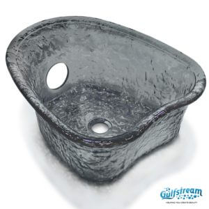 Heartshape Glass Bowl_Black-min