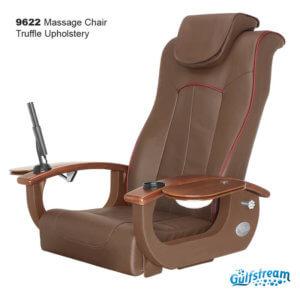 Gs9036 9622 Massage Chair Truffle Upholstery