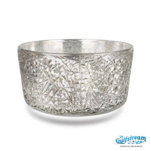 Gs5009 - Bird Nest Clear Glass Bowl 2