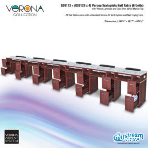 GS9113   (GS9128 x 4) Verona Sextuplets Nail Table_Nov2019-2