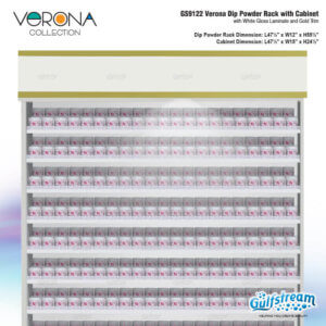 GS9122 Verona Dip Powder Rack with Cabinet_Nov2019_1