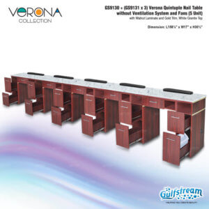 GS9130   (GS9131 x 3) Verona Quintuple Nail Table_Feb2020_2